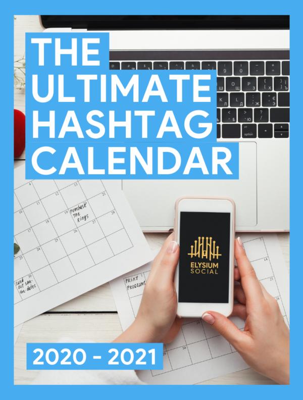 hashtag calendar social media