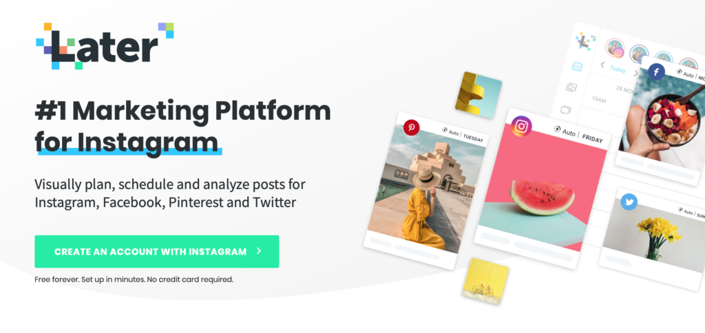 free later for instagram scheduler